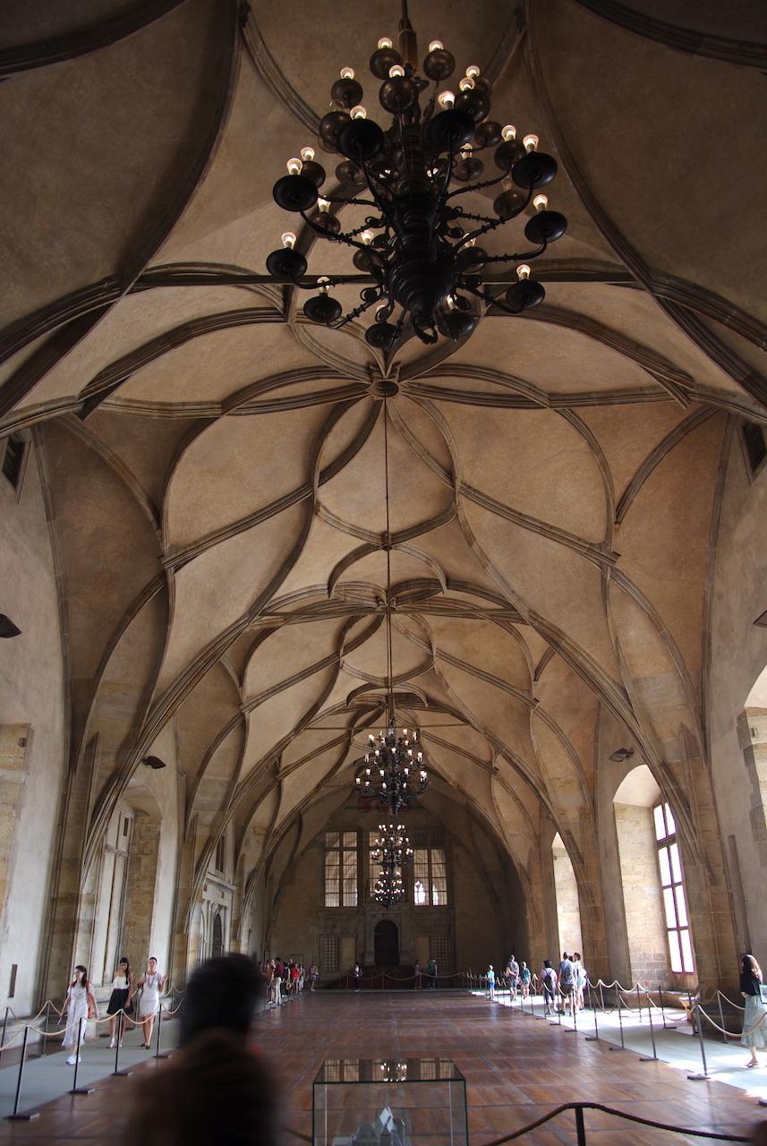 Une des salles de l'ancien Palais Royal