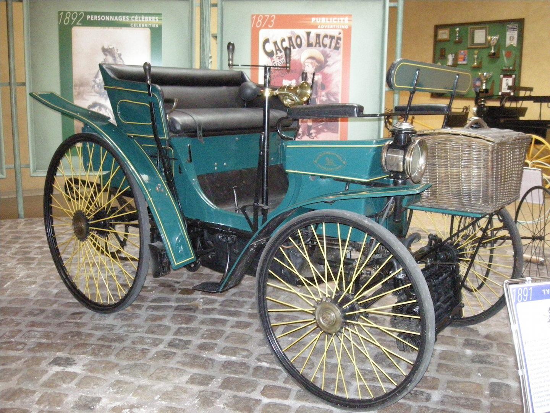 Une Peugeot de 1891