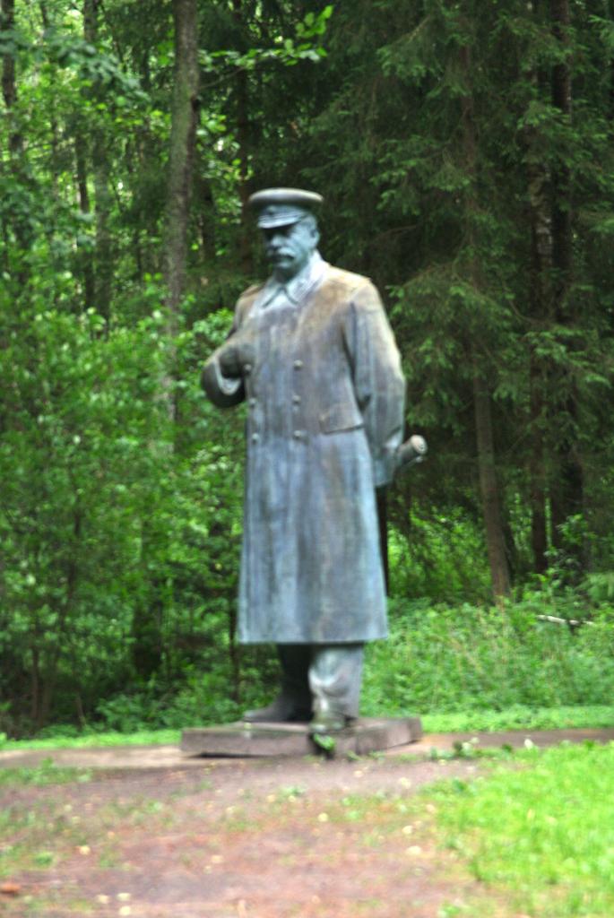 Le camarade Staline dans une position napoléonienne