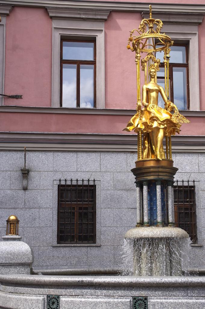 La statue de Turandote.