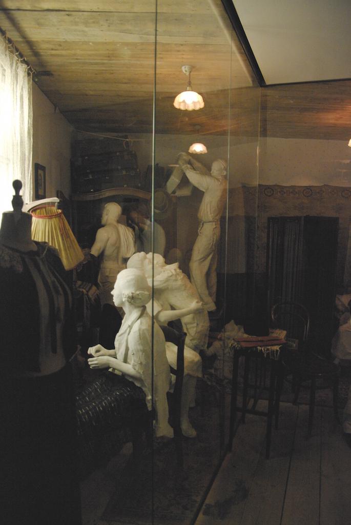 Un intérieur reconstitué