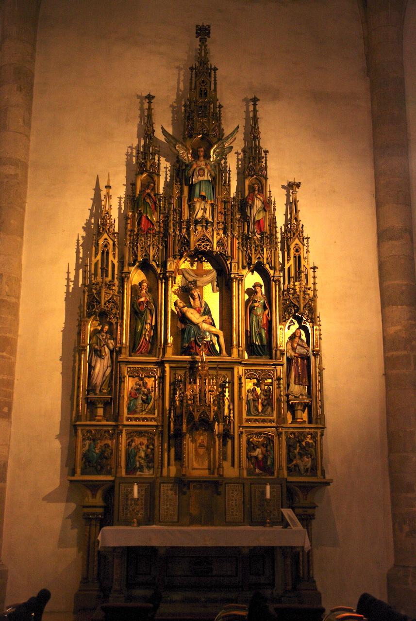 Intérieur de la cathédrale Saint Martin.