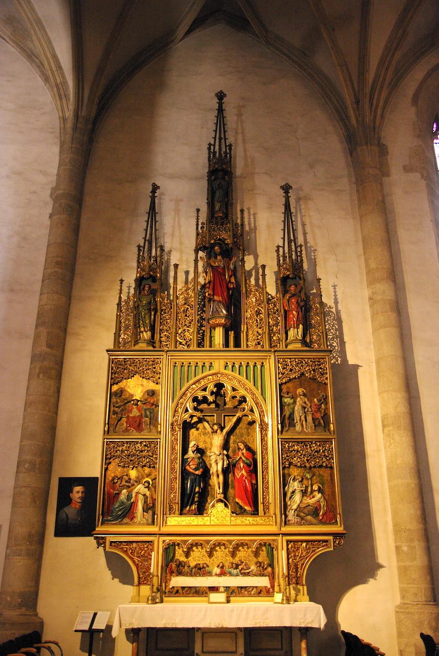 Intérieur de la cathédrale Saint Martin