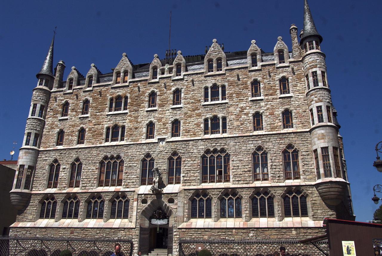 La maison Bottines, une des réalisations de Gaudi