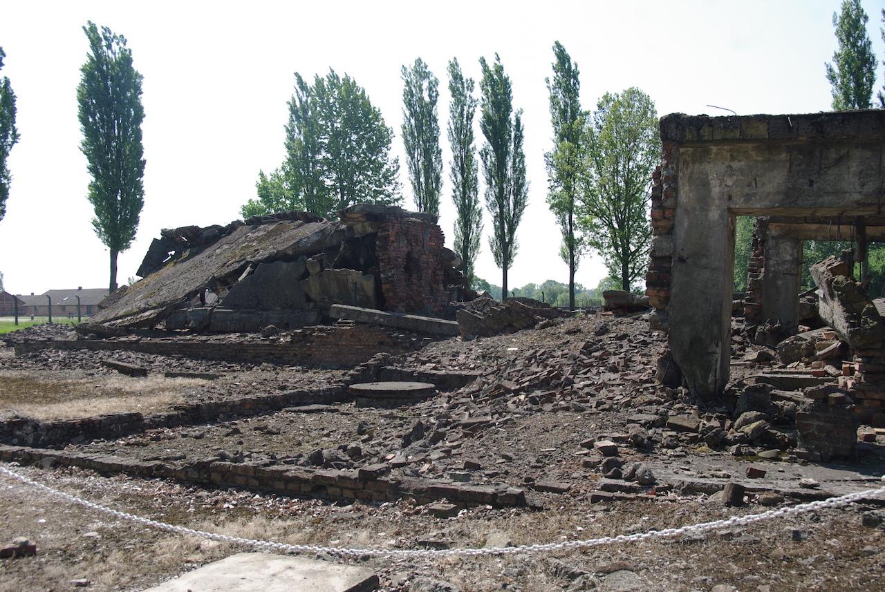 Ruines du crématoire