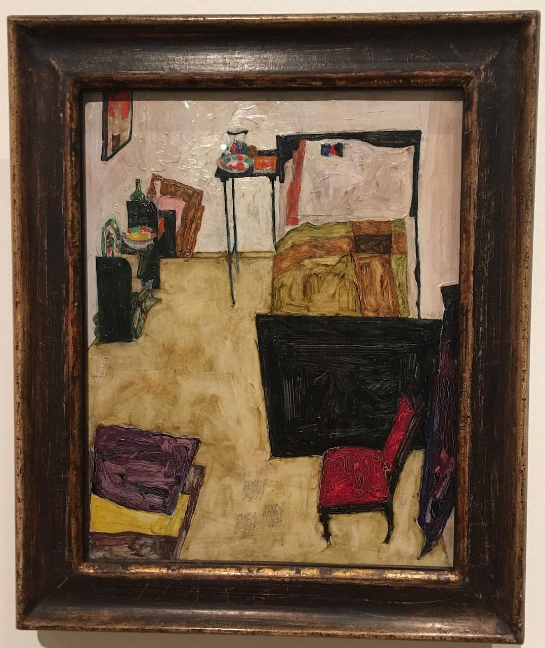 """Visiblement inspiré de """"la chambre jaune"""" de Van Gogh"""