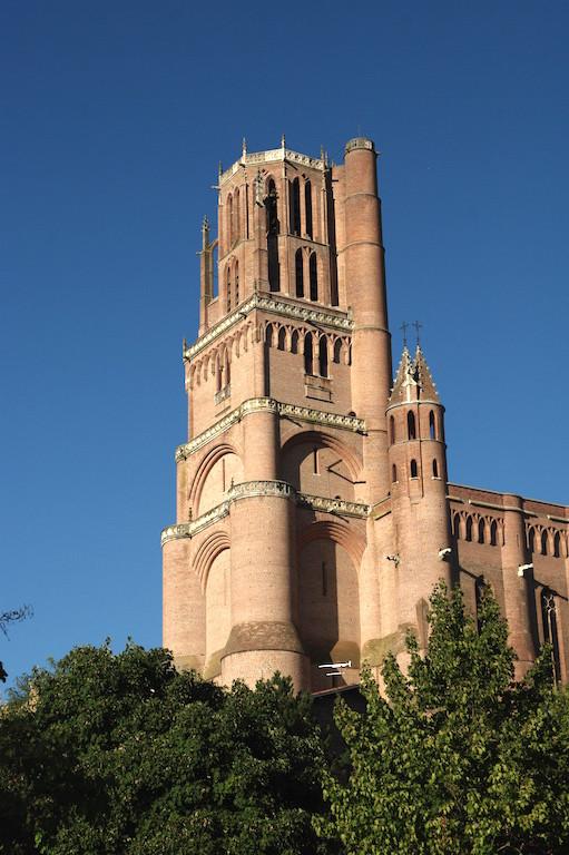 Omniprésente, la cathédrale Sainte Cécile