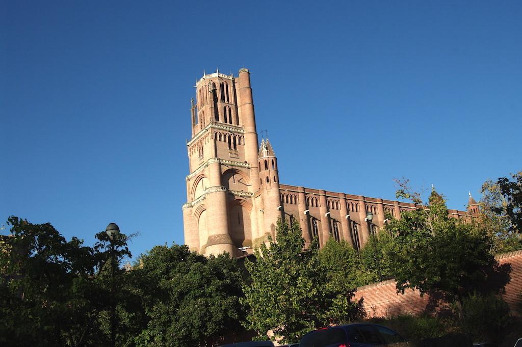 Le clocher de la cathédrale, 78 mètres de hauteur