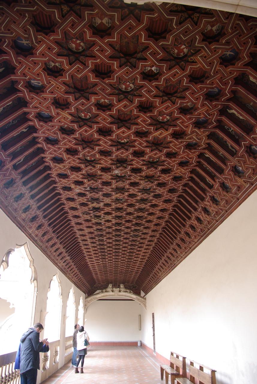 Un des nombreux et somptueux plafond