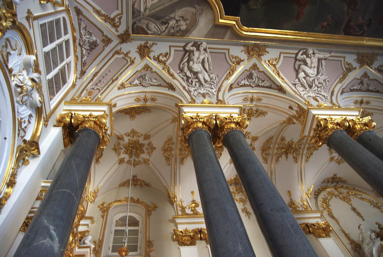 L'escalier d'honneur détail