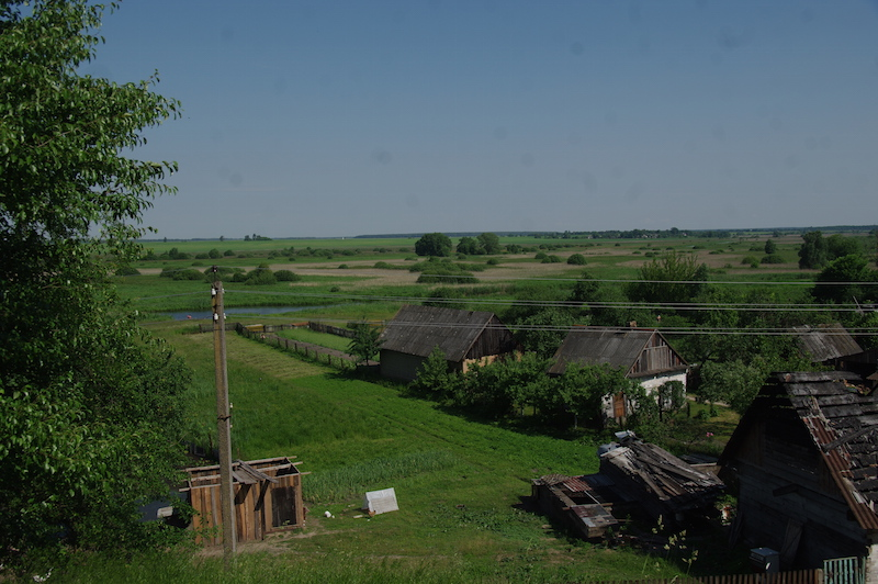 Vue sur la campagne - Kamenets.