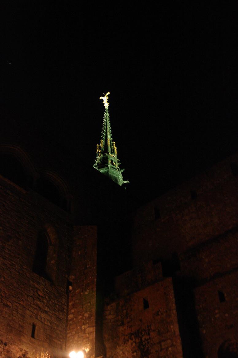 La flèche et Saint Michel