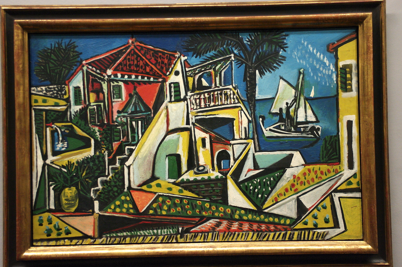 Picasso - campagne méditerranéenne