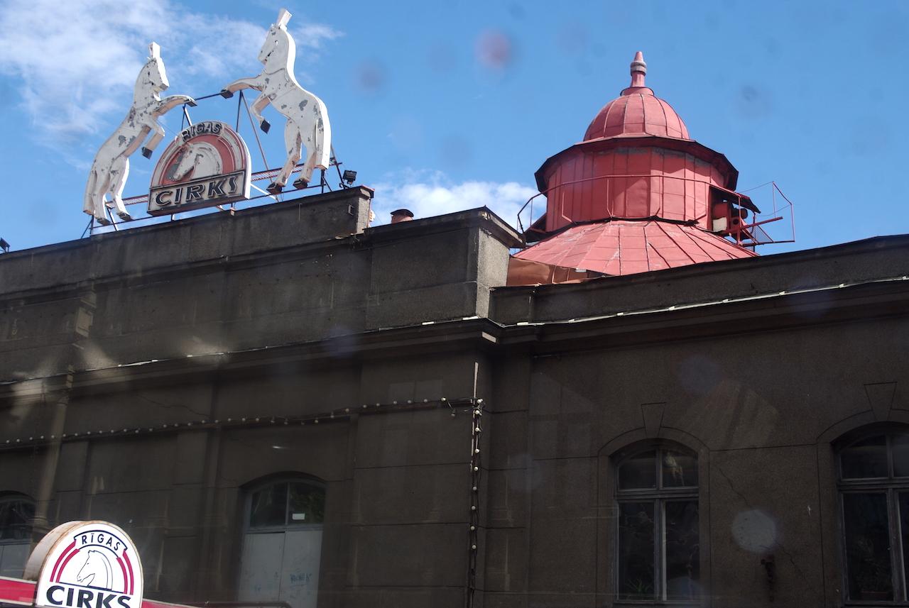 Le cirque de Riga