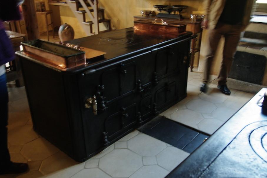 Le piano qui permettait de chauffer les pièces.