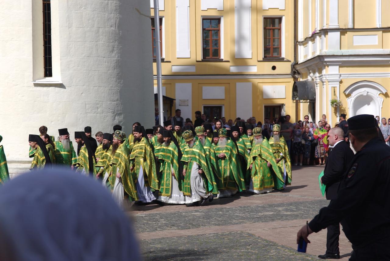 Cortège des prêtres