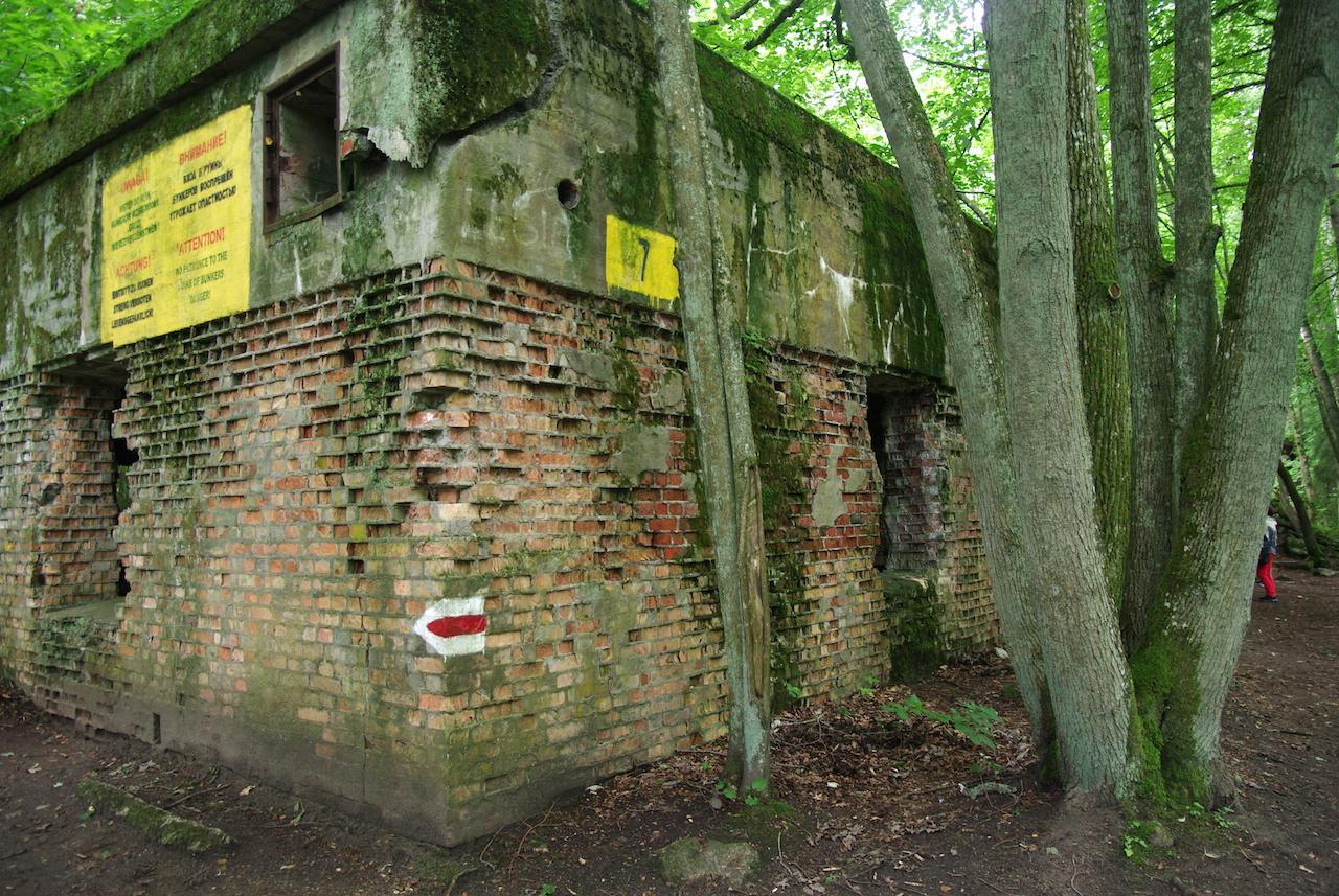 Bunker des sténos-dactylographes