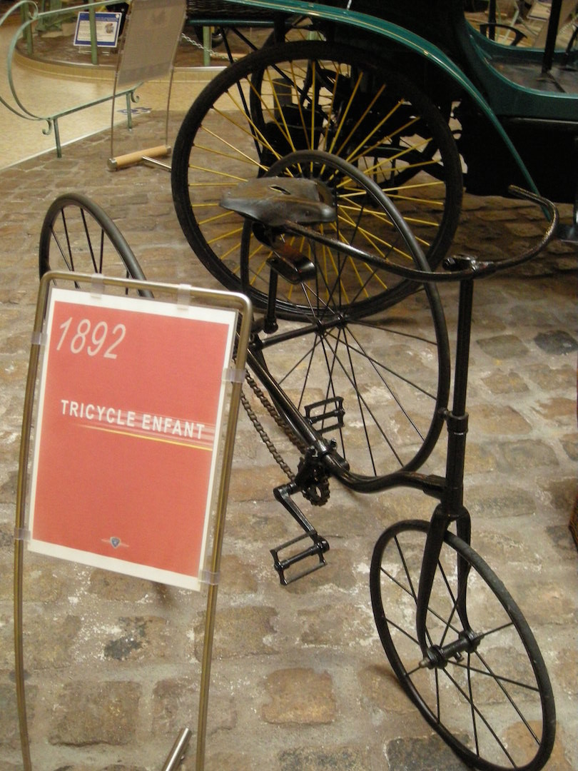 Tricycle d'enfant - 1892