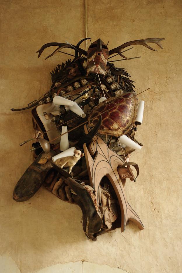 Corps en morceaux de Daniel Spoerri