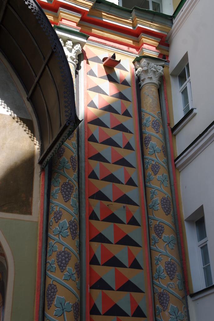 Piliers décorés