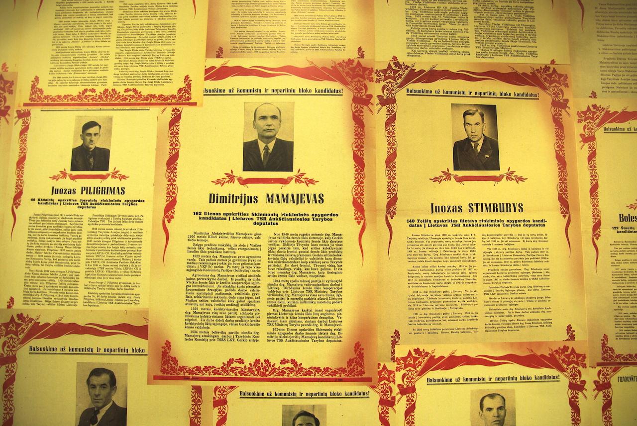 Des Lituaniens méritants