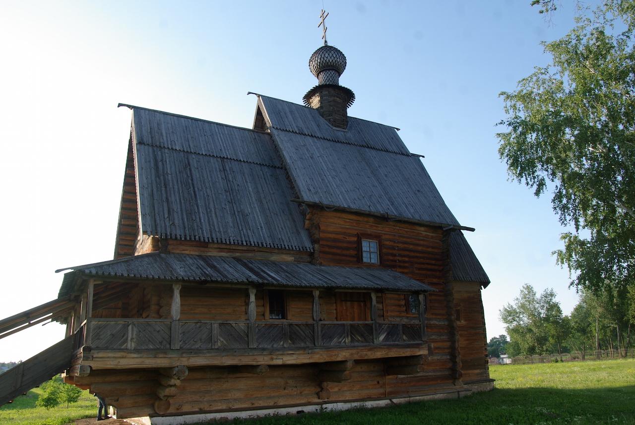 L'église Saint Nicolas, proche du Kremlin