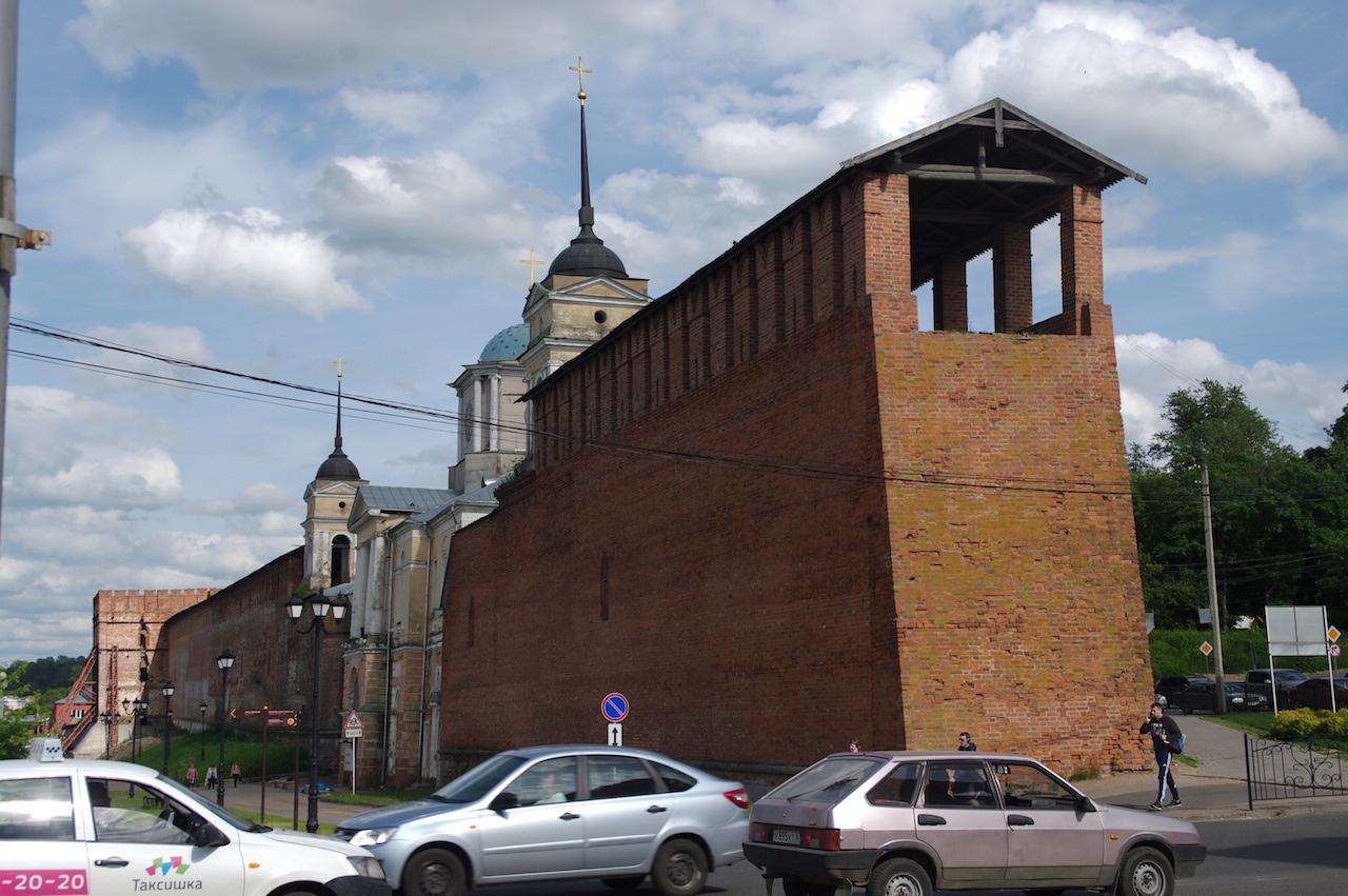 Restes de l'enceinte du Kremlin