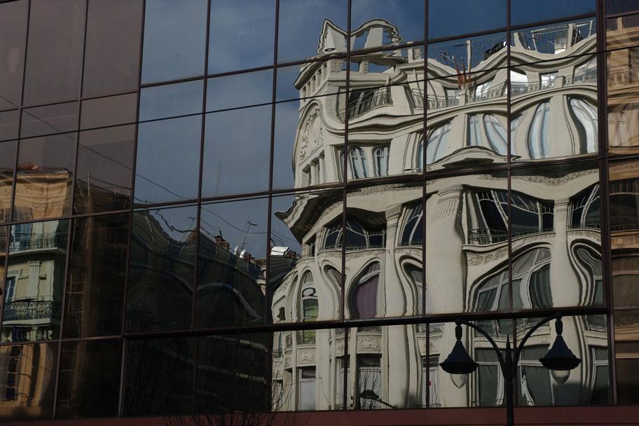 Reflets de façades