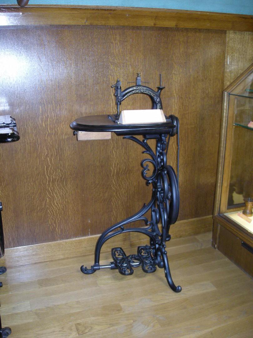 Une jolie et originale machine à coudre