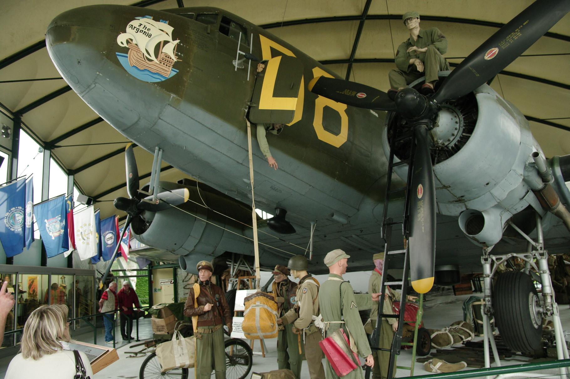 Le Douglas C47 construit à plus de 10000 exemplaires