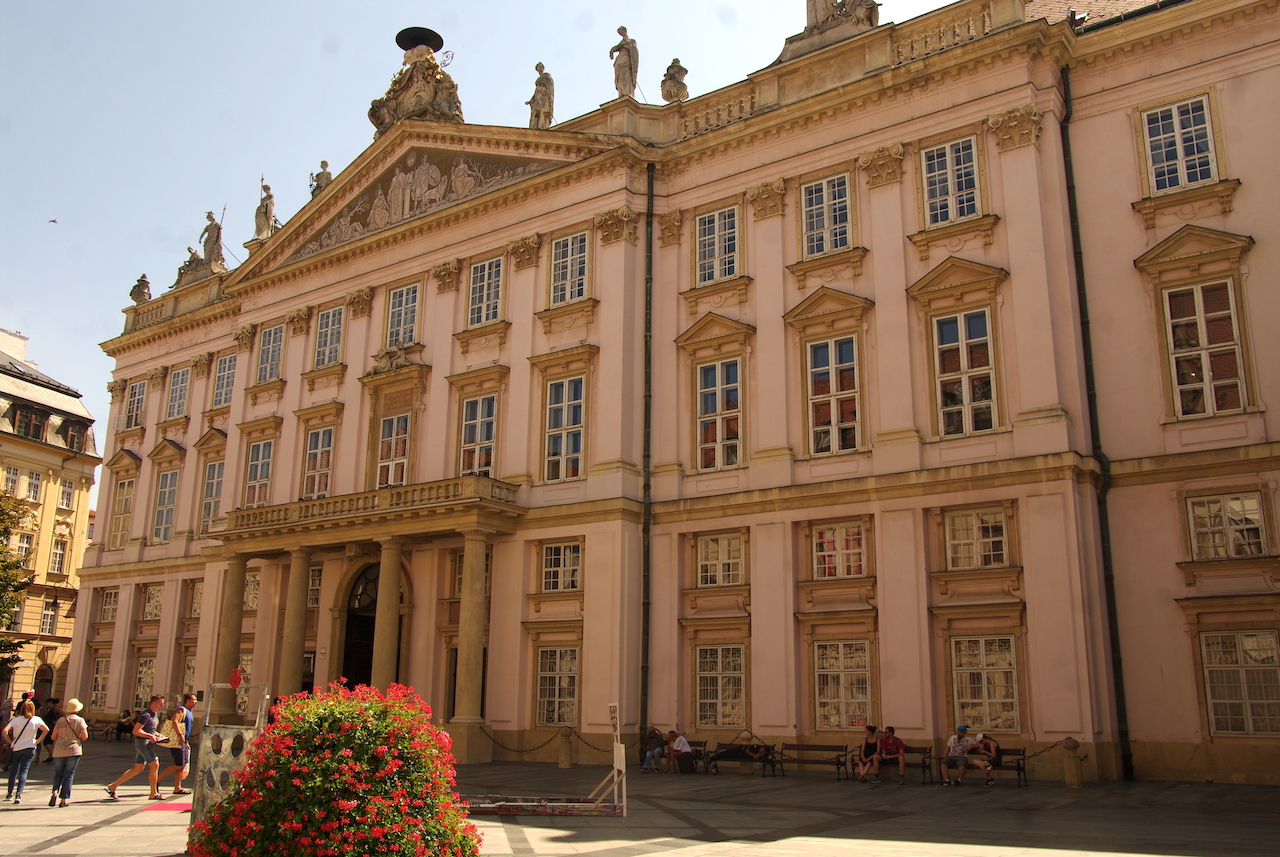 Un des nombreux palais