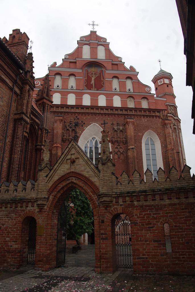 Façade de l'église des Bernardins
