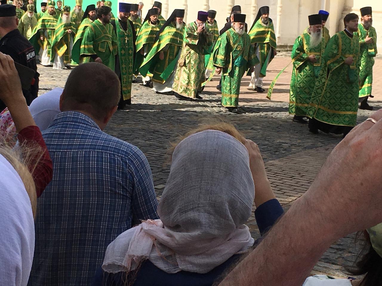 L'arrivée du Patriarche