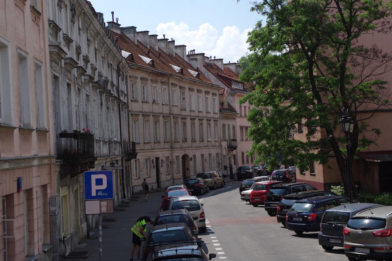 Un des premiers quartiers reconstruits.