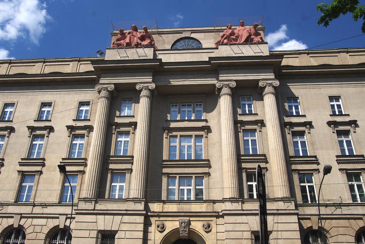 Une façade classique