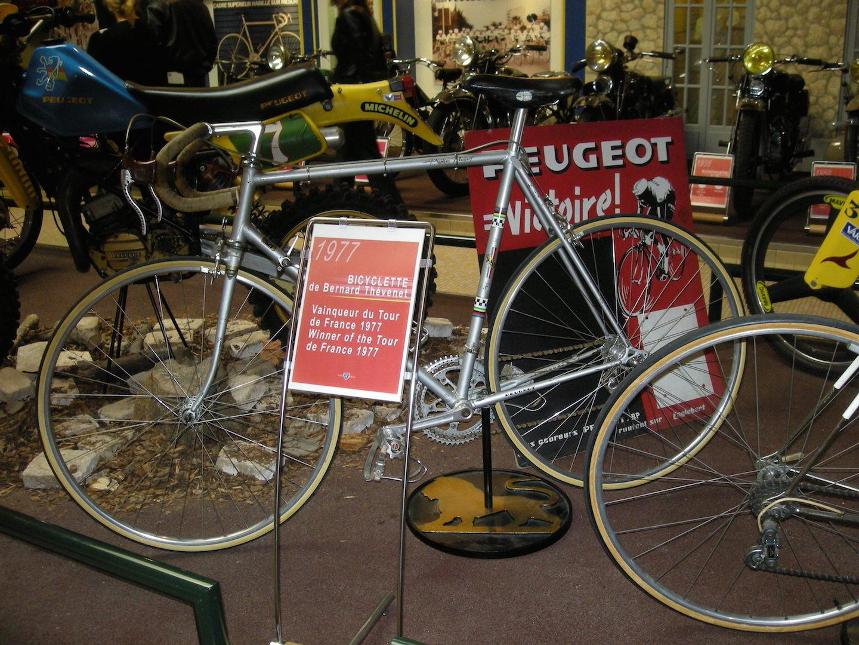 Le vélo de Bernard Thévenet vainqueur du Tour 1977
