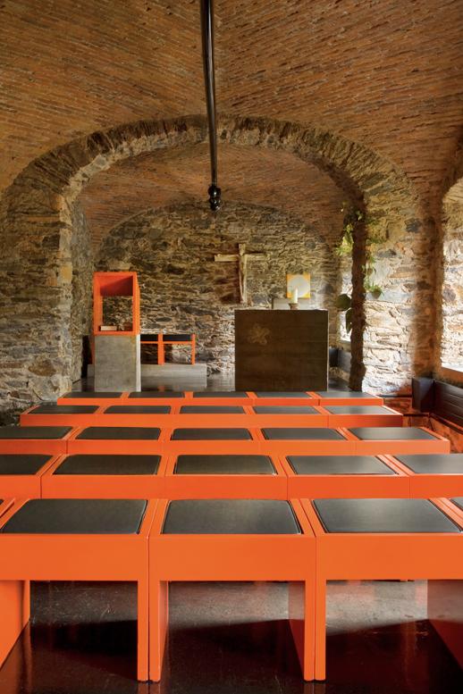 Convento Bigorio Architekturreportage