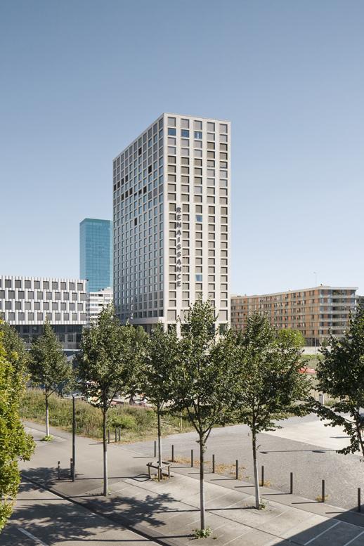 Mobimo Tower Zürich West , Diener und Diener Architekten Basel Architekturfotografie