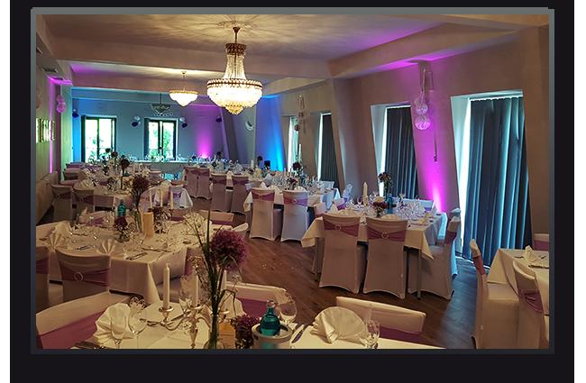 Hochzeitsfeier, Schloss Auel Lohmar