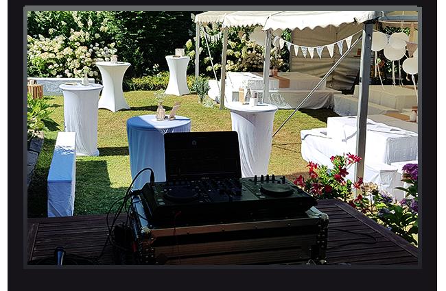 Hochzeitsfeier im Garten, Leverkusen