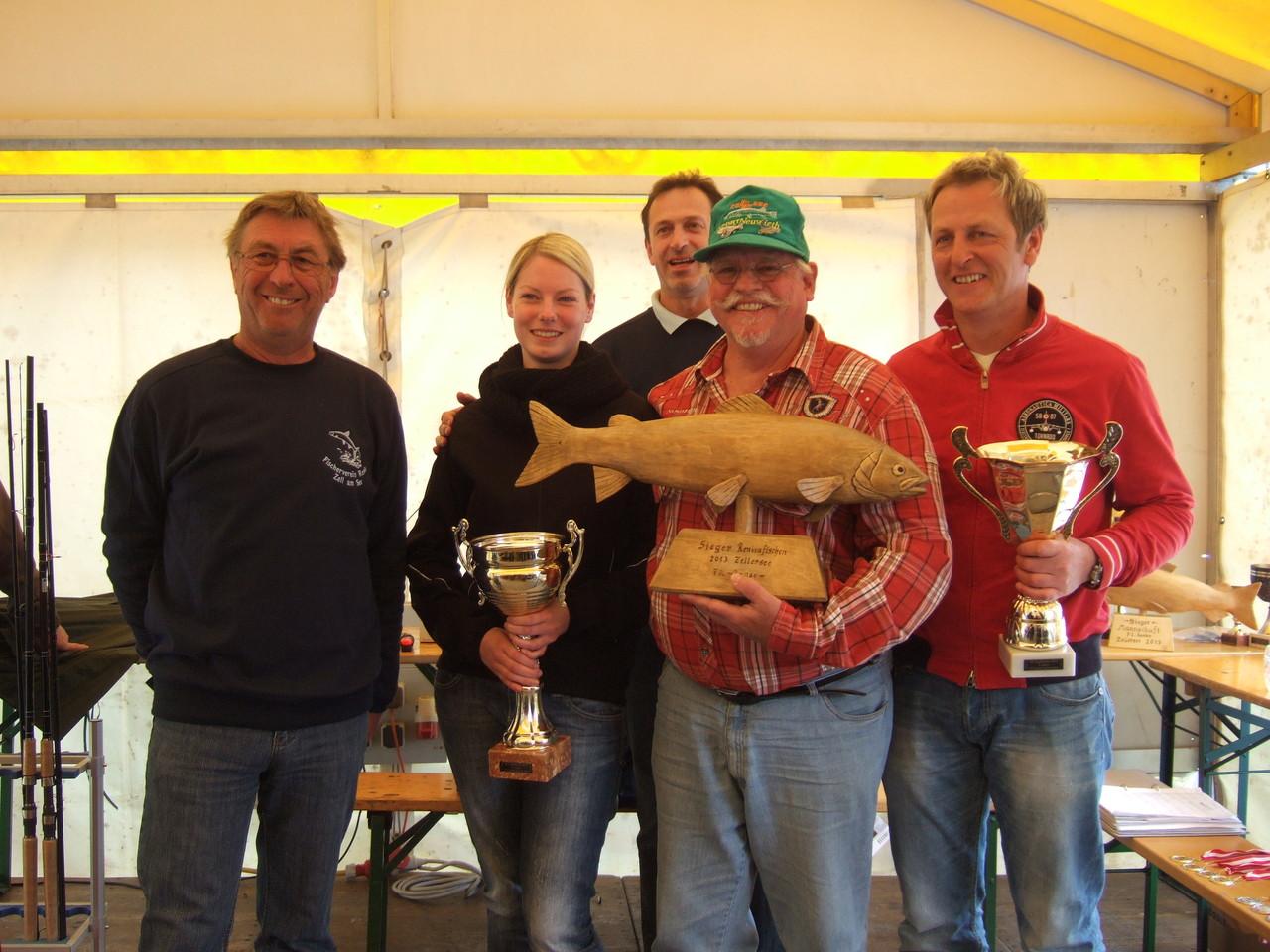 Gerd als Sieger in Zell am See 2013