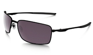 OO4075-09 square-wire matte-black prizm daily polarized