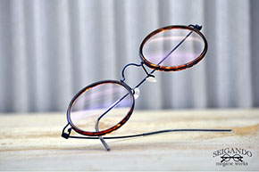 ◎フレーム:LINDBERG/RIM Harley ◎レンズ:Ito Lens/WAVEPLUS 1.60AS ◎レンズカラー:QOS COLOR ROXY