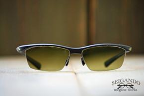 ◎フレーム:NIKE/7070 ◎レンズ:SA VISION/Golf Eye's FINE