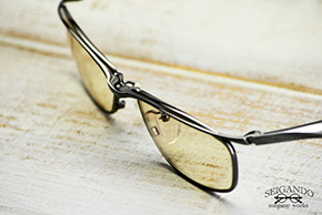 ◎フレーム:ZEAL OPTICS/Walz Alt ◎レンズ:TALEX/mo'eye Brown