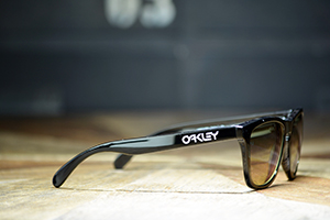 ◎フレーム:OAKLEY/Frogskins ◎レンズ:TALEX/TRUEVIEW SPORTS