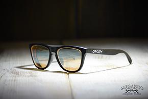 ◎フレーム:OAKLEY/Frogskins ◎レンズ:TALEX/LUSTER ORANGE