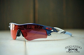 ◎フレーム:OAKLEY/RADARLOCK CUSTOM ◎レンズ:OAKLEY/PRIZM Base Ball OUTFIELD