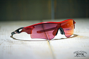 ◎フレーム:OAKLEY/RADARLOCK CUSTOM ◎レンズ:OAKLEY/PRIZM Field PATH