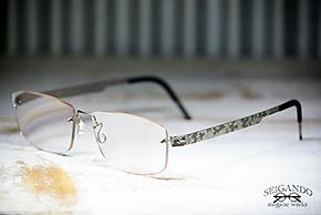 ◎フレーム:LINDBERG/SPIRIT T601 ◎レンズ:Nikon/1.60薄型遠近両用レンズ